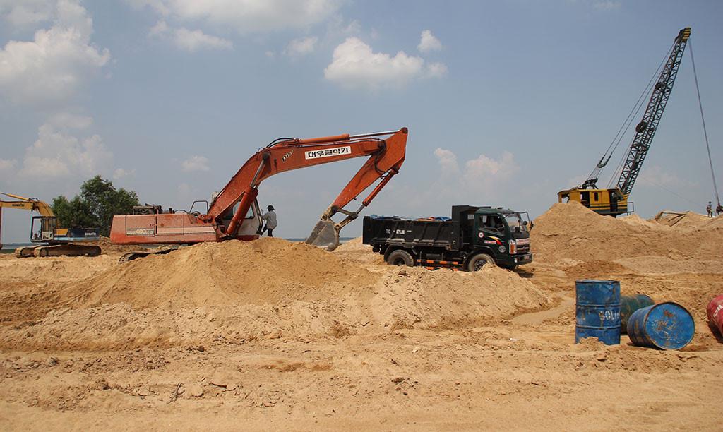 Bảng báo giá cát xây dựng